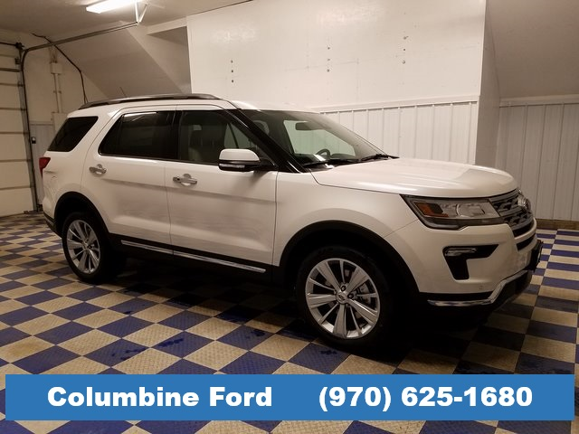 7751ac91 New 2019 Ford Explorer Limited 4D Sport Utility in Rifle #F9311 ...