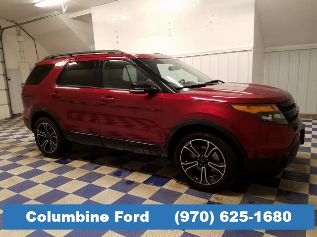 2015 Ford Explorer For Sale >> Pre Owned 2015 Ford Explorer Sport Awd For Sale In Rifle Co