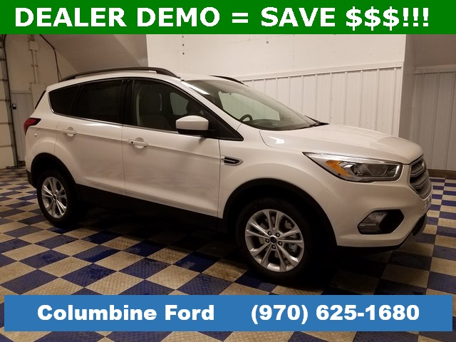 New 2019 Ford Escape SEL White 4WD for sale in Rifle, CO