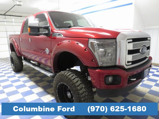 Pre-Owned 2016 Ford F-350SD Platinum