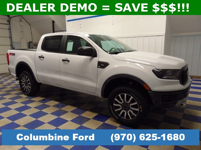 New 2019 Ford Ranger XLT White 4WD for sale in Rifle, CO