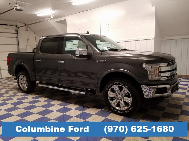 New 2019 Ford F-150 Lariat Gray 4WD for sale in Rifle, CO