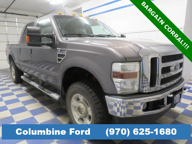 Pre-Owned 2009 Ford F-250SD XLT Gray 4WD for sale in Rifle, CO