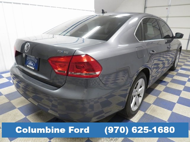 Pre-Owned 2012 Volkswagen Passat TDI SE FWD 4D Sedan for sale in Rifle, CO