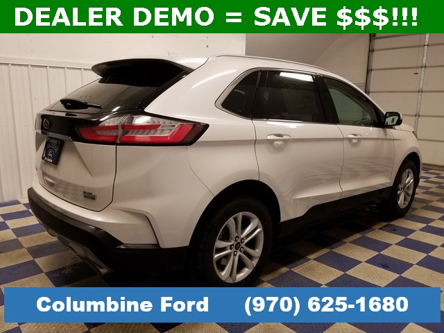New 2019 Ford Edge Sel White Awd For Sale In Rifle Co