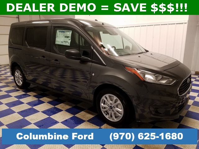 New 2019 Ford Transit Connect XLT FWD Passenger Van Gray for sale in Rifle,  CO